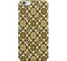 Regal Reign - Gold & Blue iPhone Case/Skin