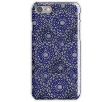 Circular Seasons - Black & Blue iPhone Case/Skin
