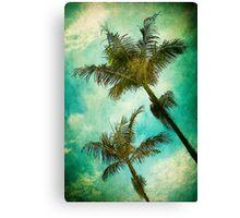Swaying Palms Canvas Print