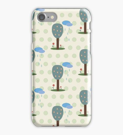 Forest midtone iPhone Case/Skin