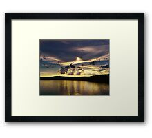 Sunset by the Master Framed Print