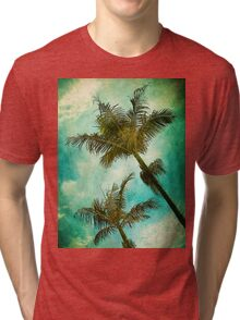 Swaying Palms Tri-blend T-Shirt