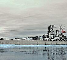 Battleship Yamato  by Walter Colvin