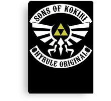 Sons of Kokiri Version 2 Canvas Print