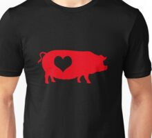 Pig Heart Bacon Unisex T-Shirt