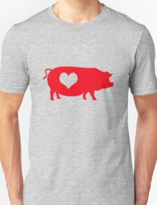 Pig Heart Bacon T-Shirt