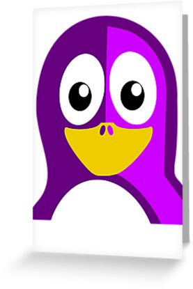 Purple Penguin by kwg2200