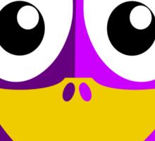 Purple Penguin Sticker