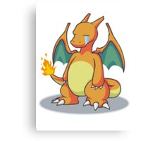 Sad Charizard Canvas Print