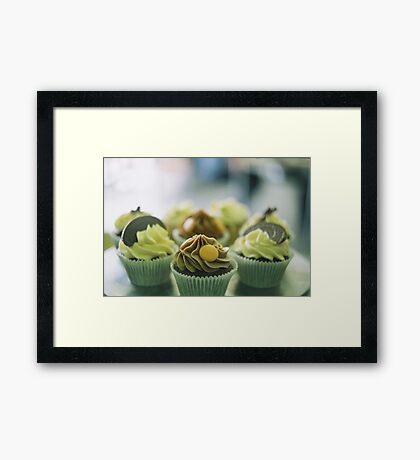 Cupcakes Framed Print