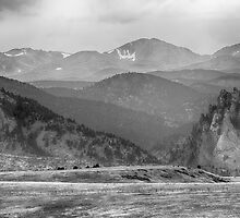 Eldorado Canyon and Continental Divide Above BW by Bo Insogna
