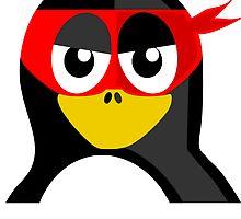 Superhero Penguin by kwg2200
