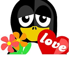 Valentine Penguin by kwg2200