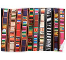 Colorful Cloth and Leather Belts Poster