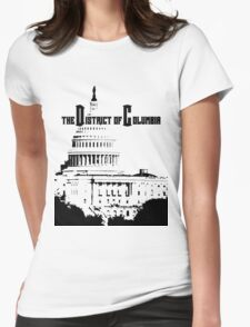 The District of Columbia Womens Fitted T-Shirt