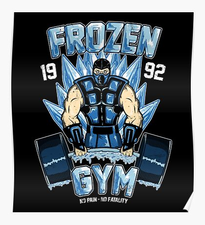 Frozen Gym Poster