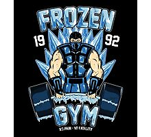 Frozen Gym Photographic Print