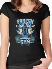 Frozen Gym Women's Fitted Scoop T-Shirt