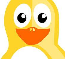 Yellow Penguin by kwg2200