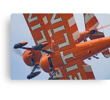 Crazy Wingwalking - Dunsfold 2013 Canvas Print