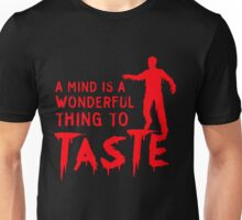 Zombie is a terrible thing to waste Unisex T-Shirt
