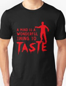 Zombie is a terrible thing to waste T-Shirt