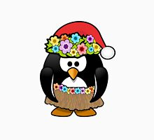 Hawaiian Christmas Penguin T-Shirt