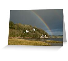 Dylan Thomas Boathouse Laugharne Carmarthenshire Wales Greeting Card