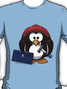 Construction Penguin T-Shirt