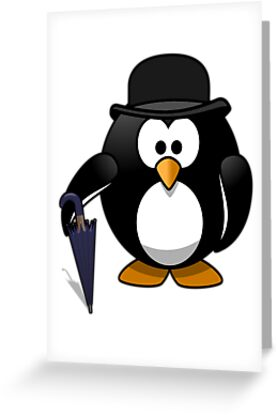 Fancy Penguin by kwg2200