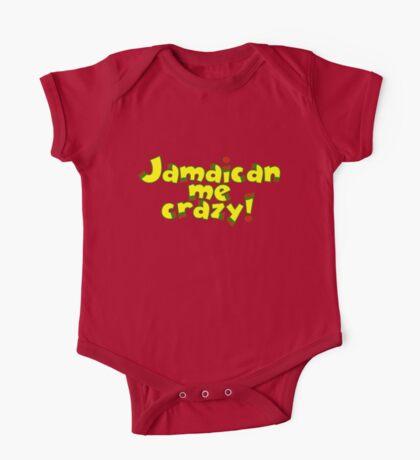 Jamaican me crazy! One Piece - Short Sleeve