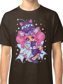 Sailor Mini Moon & Space Kitties Classic T-Shirt