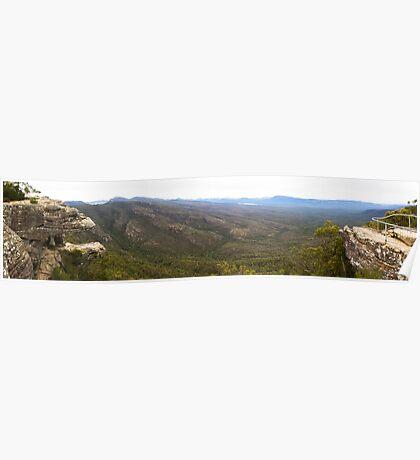 Grampians National Park Panorama Poster