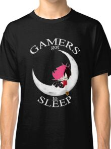 Gamers Got To Sleep (moon edition) Classic T-Shirt