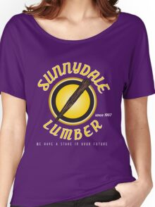 Sunnydale Lumber Women's Relaxed Fit T-Shirt