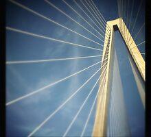 Arthur Ravenel Jr. Bridge - Charleston, SC #3 by Edith Reynolds