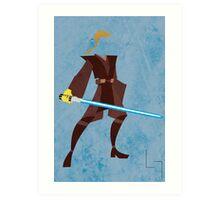 Anakin (Padawan) Art Print