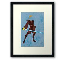Anakin (Padawan) Framed Print
