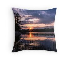 Sunset Massasauga Provincial Park Throw Pillow