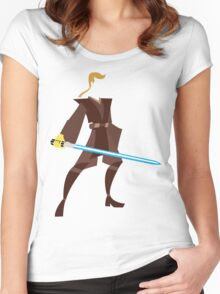 Anakin (Padawan) Women's Fitted Scoop T-Shirt