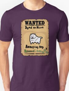 Undertale - Dog, Wanted Unisex T-Shirt