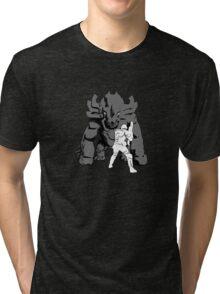 Onos verses Marine  Tri-blend T-Shirt