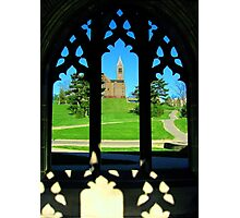Clocktower from the Gothics Photographic Print