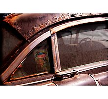 CADILLAC BLUES  Photographic Print