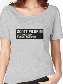 Scott Pilgrim - Scott's Name Tag Women's Relaxed Fit T-Shirt