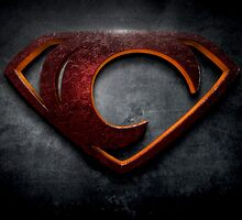"The Letter C in the Style of ""Man of Steel"" by BigRockDJ"