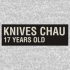 Scott Pilgrim - Knives Chau's Name Tag by JordanDefty