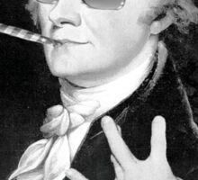 Alexander Hamilton is the Grand Master of Swag Sticker