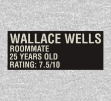 Scott Pilgrim - Wallace Wells' Name Card by JordanDefty
