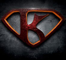 "The Letter K in the Style of ""Man of Steel"" by BigRockDJ"